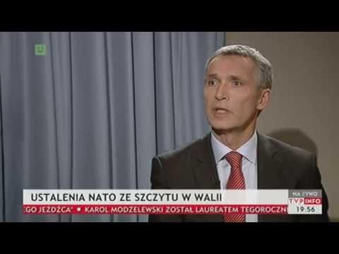 Dziś wieczorem - Stoltenberg: Polska jest bezpieczna