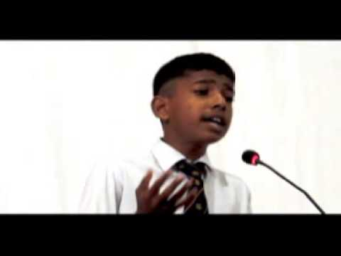 Sainik School Bijapur Hindi Poem Recitation By Ayush Naik 2013-14 video