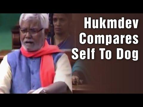 BJP MP Hukumdev Narayan Yadav compares his life with dog in Lok Sabha