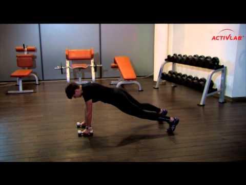 Trening Dla Kobiet: Brzuch I Nogi