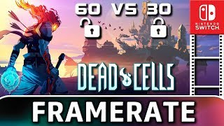 Dead Cells | 60 VS 30 FPS | Frame Rate TEST on Nintendo Switch