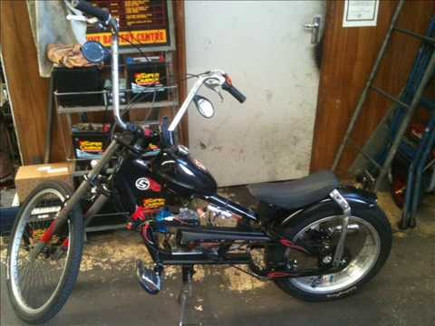 BADBOYBONNY schwinn stingray chopper bike