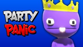 MINI GAME KING! | Party Panic (ft. BasicallyIDoWrk, Ohm, & Ze)