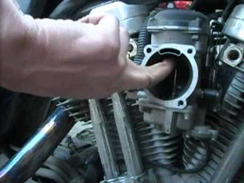 Harley Davidson Sportster Idle Adjustment