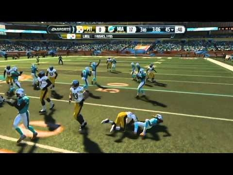 Football-nfl-madden 15 :: Paypack Is In Order :: Dolphins Vs. Steelers - Online Gameplay Xboxone video