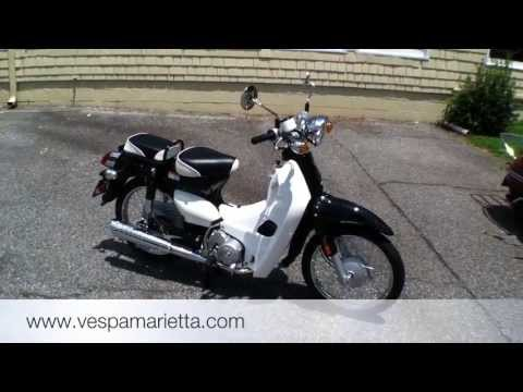 2013 SYM Symba 100cc Scooter preview via Vespa Marietta.