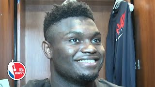 Zion talks challenging Rudy Gobert and his fearlessness to shoot 3-pointers | 2019 NBA Preseason