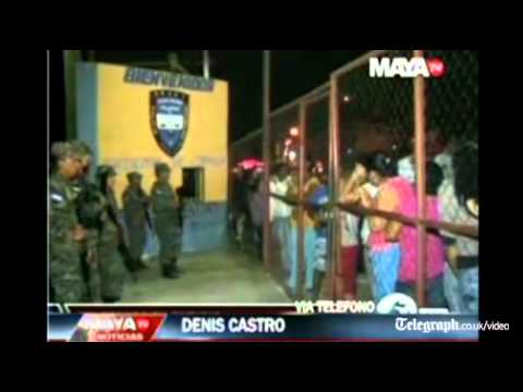 Honduras Prison Fire Killed Over 350