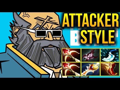 Do Something With Kunkka of Attacker! - Dota 2 7.07c