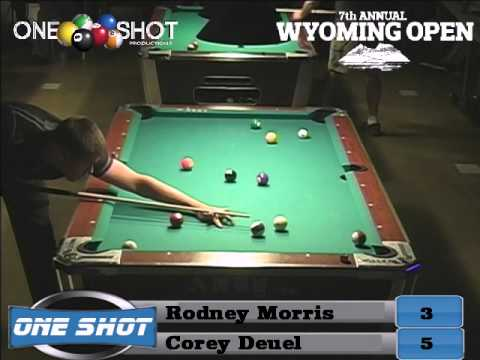 Corey Deuel Why I Shoot With With A Meucci Pool Cue