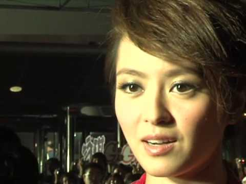 Gigi Leung (梁詠琪) at the Asian Film Awards (in English)