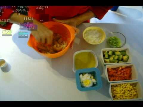 Receta de ensalada de bacalao con Chef Milani