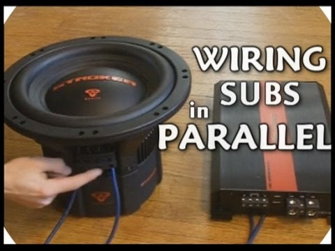 How To Wire DVC Subwoofers In Parallel // Dual 2 Ohm Voice Coil Sub Wiring   EXO Car Audio Tutorial