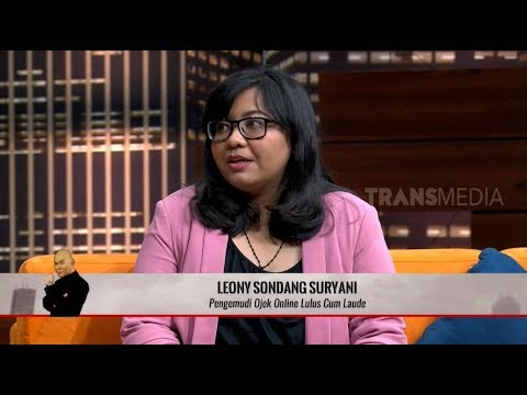 Download Leony Sondang, Driver Ojol Yang Lulus Cum Laude Dari Undip   HITAM PUTIH 13/08/19 Part 3 Mp4 baru