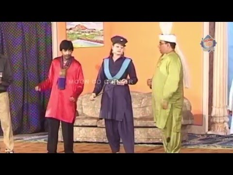 Raffu Chakkar Pakistani Stage Drama Full Comedy Show video