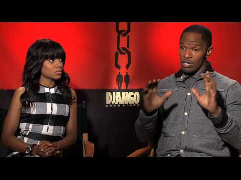 Django Unchained Interview: Kerry Washington and Jamie Foxx [HD]