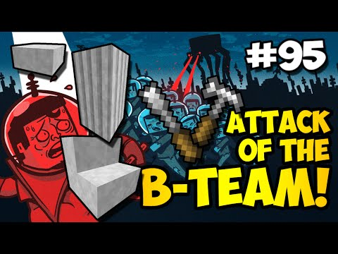 Minecraft: BANK UPGRADES W/ PUNGENCE - Attack of the B-Team Ep. 95 (HD)