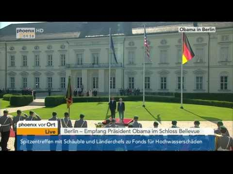 President Barack Obama visits Germany