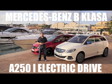 (PL) Mercedes-Benz Klasa B 250 i Electric Drive - test i pierwsza jazda próbna