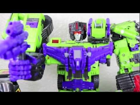 Transformers TFC Toys Hercules aka Classics Devastator Combiner Review