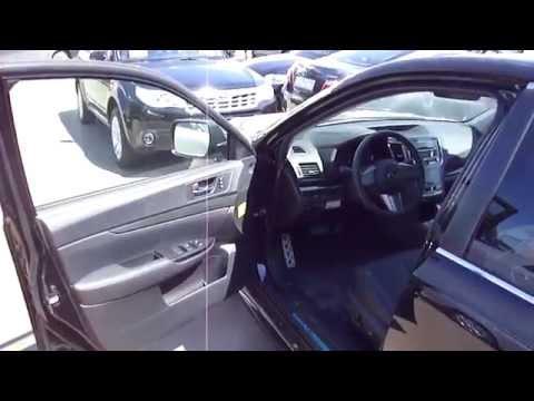 Subaru Legacy 2012. Обзор (интерьер, экстерьер).