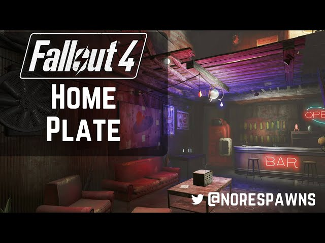 ... Fallout 4   Home Plate Guided Tour ...