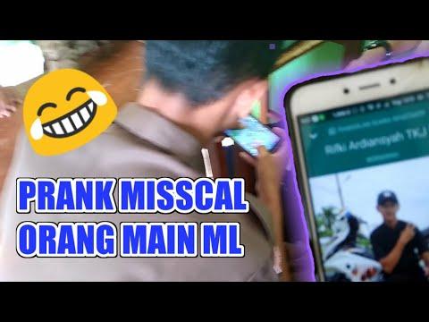 PRANK!!MISCALL ORANG SAAT MAIN MOBILE LEGENDS