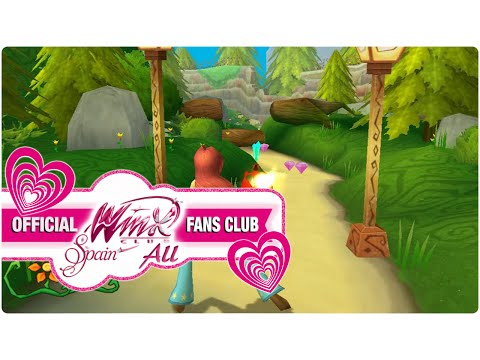 Winx Club PC Game - 1. Bloom discovers her powers