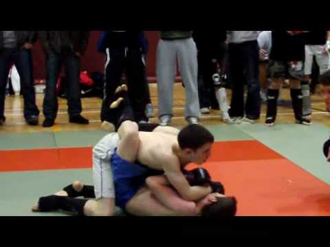MMA LEAGUE Galway 09 Carl Mason v unknown Video