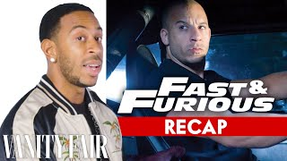 Ludacris Recaps Every Fast & Furious Movie In 8 Minutes | Vanity Fair
