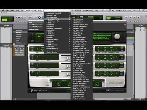 Exporting the track to an .mp3 audio file