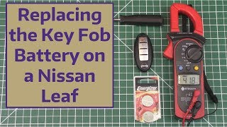 Replacing the Key Fob Battery on a Nissan Leaf
