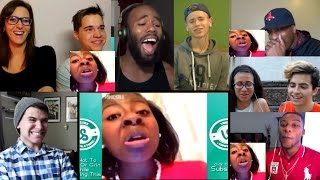 Try Not To Laugh (Impossible Challenge) Reactions Mashup