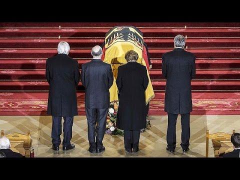 Allemagne: funérailles nationales pour l'ancien président von Weizsäcker