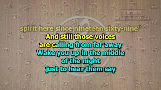 Eagles - Hotel California (Acoustic Version) (Karaoke)