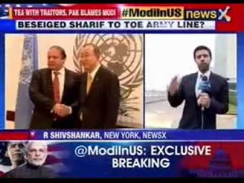 #ModiInUS: Nawaz Sharif to raise Kashmir-bogey in UNGA address