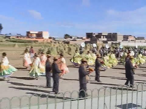 PROYECCIÓN MURILLO en la Fiesta Patronal C.P.De Acari-yunguyo /puno