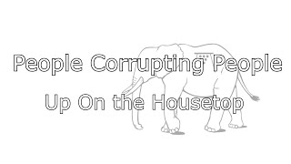 People Corrupting People (PCP) - Up on the Housetop PUNK COVER (OFFICIAL LYRIC VIDEO)