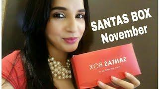 *New* SANTAS BOX November 2017 | Coupon Code for FREE Product | Violet Box | Starting from @ 490