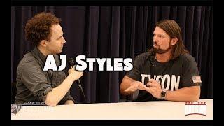 AJ Styles - Southpaw, Daniel Bryan, NJPW, etc - Sam Roberts