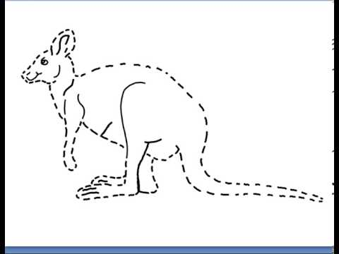 Printable Tracing Pictures Worksheets For Kids - YouTube