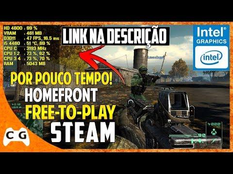 Homefront Grátis Na Steam Gameplay Teste Intel HD Graphics Roda Em PC Fraco #436