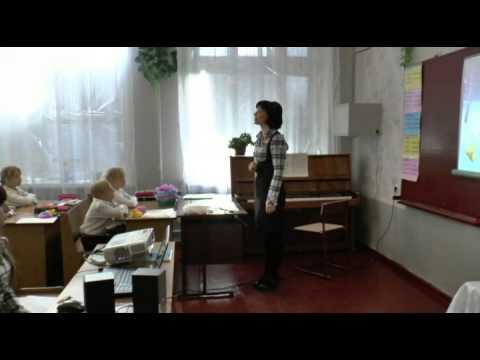 Уроки музыки в школе - видео