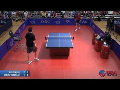 Men's Singles QF: Jim Butler vs. Xavier Therien - 2012 North American Championships