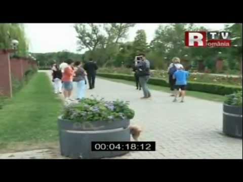Fozzi Pissing In A Romanian Park, Lady Gaga's Dog video