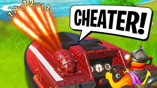 LE PLUS GROS CHEATER DE FORTNITE! 🔥 LE MEILLEUR DE FORTNITE #214