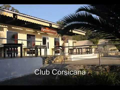 střediska Club Corsicana a Corsica Natura