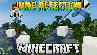 Advanced Perfect Jump Detection | Minecraft 1.9