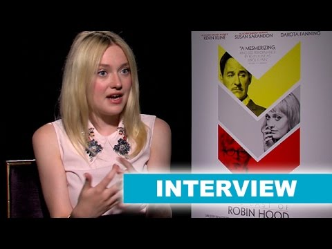 Dakota Fanning Interview Today! The Last of Robin Hood 2014 - Beyond The Trailer