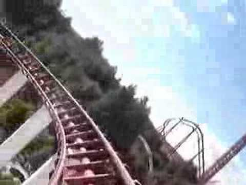 Viper Six Flags Magic Mountain Video